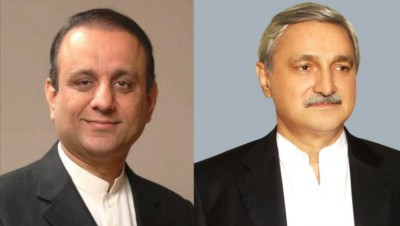 Jahangir Tareen and Aleem Khan