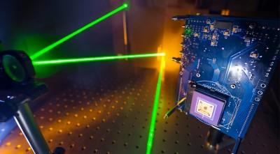 Laser technology cameras