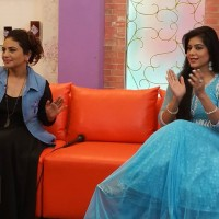 Megha Jee and Aine Tahira