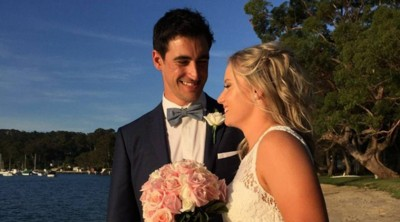 Mitchell Starc and Aylyza Haley