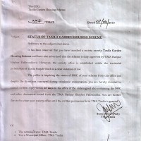 NOTICE OF TMA TAXILA