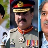 Nisar, Raheel and Shahbaz