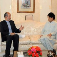 Nisar and Iranian Ambassador