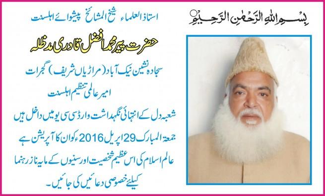 Pir Mohammad Afzal Qadri