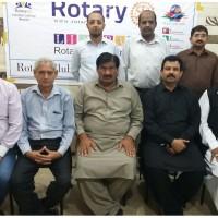 Potary With CR Riaz Shahzad Ashraf Mahandra