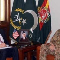 Raheel Sharif and Richard Olson