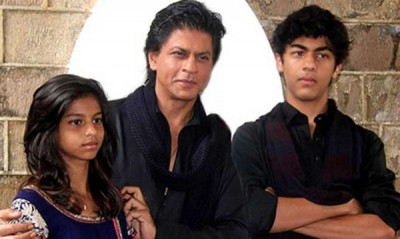 Shah Rukh Khan and Children