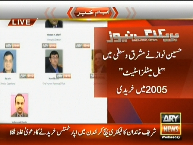 Sharif Family– Breaking News – Geo