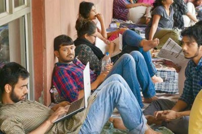 Students Hunger Strike