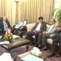 Syed Qaim Ali Shah Meeting