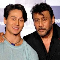 Tiger Shroff and Jackie Shroff