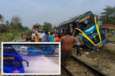 Train Bus Collision