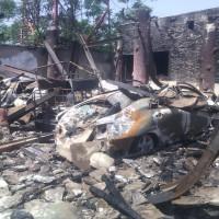 Vehicles Burned