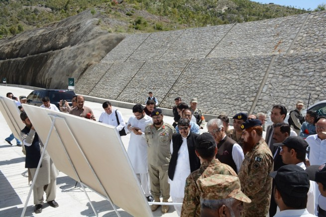 Zafar Iqbal Jaghra Mohmand Agency Visit Mohmand Agency