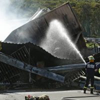 Australia Cars Warehouse Fire