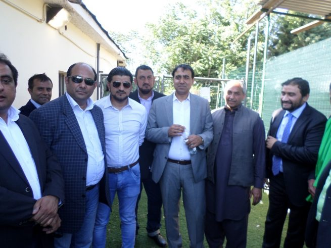 Chaudhry Khalid with Friends