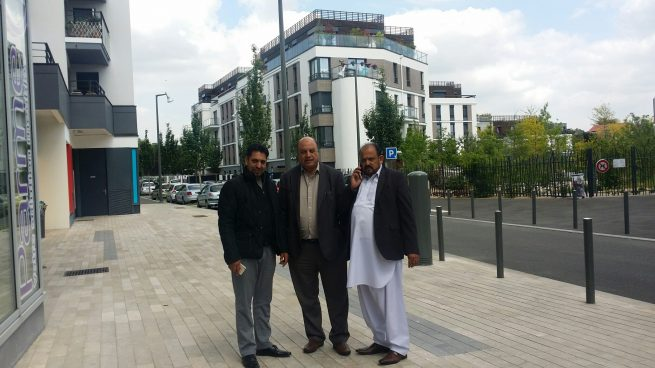Chowdhury Razi ul Hasan friends Cars Showroom in Greetings
