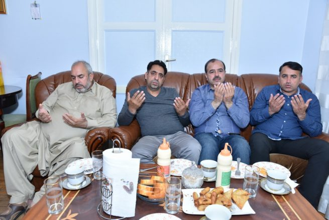 Condolences With Choudhary Riaz Gujjar