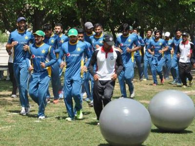 Cricket Team Training