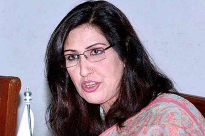 Deputy Speaker Shehla Raza