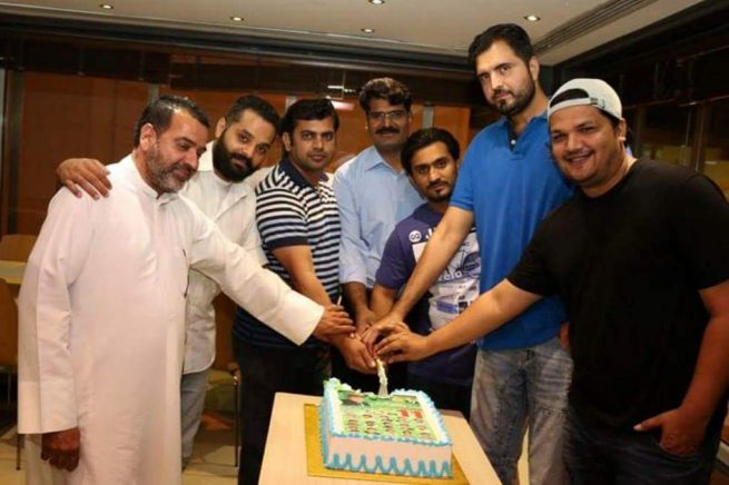 Election  PML N 3rd Birthday Ceremony Kuwait