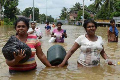 Floods in Sri Lanka
