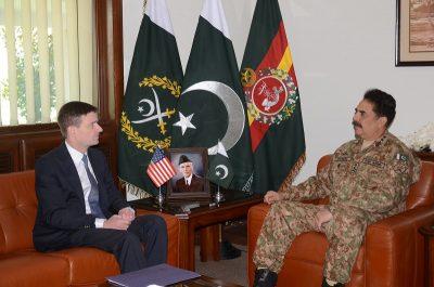 General Raheel Sharif-David Hale,Meeting