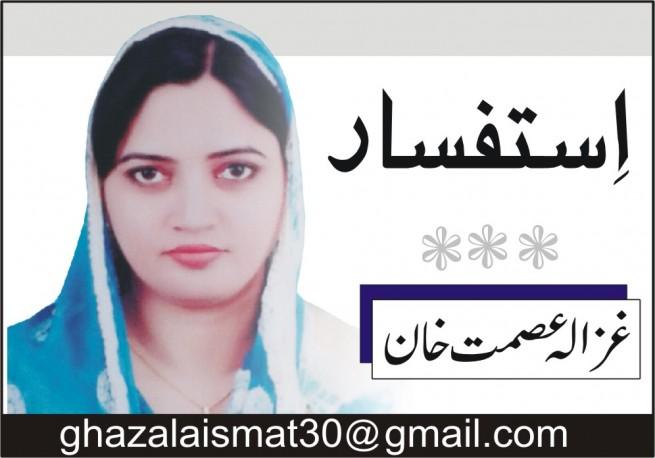 Ghazala Asmat Khan