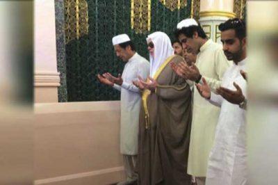 Imran Khan Umrah