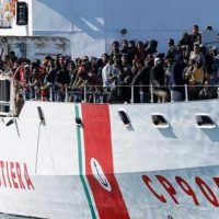 Italy Immigrants Rescue