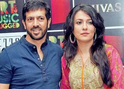 Kabir Khan and Wife