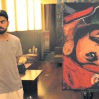 Kohli Painting