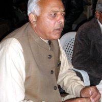 MNA Ghulam Sarwar Khan
