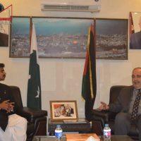 Meeting with Palestinian Ambassador (1)