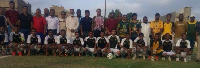 NBP Muhammad Ali shah Football Tournament