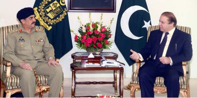Nawaz and Raheel Sharif