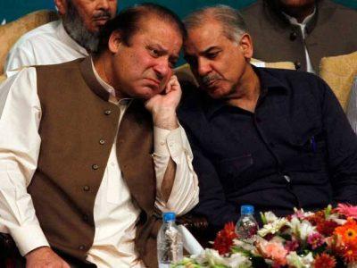Nawaz and Shahbaz Sharif