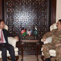 Omer Zakhilwal and Raheel Sharif