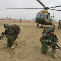 Operation in Helmand