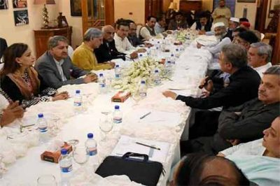 Opposition Parties Meeting