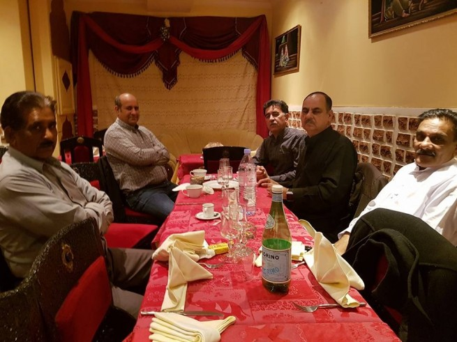 PML N France Bearers Honors Dinner