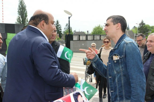 Peoples Party France Protest