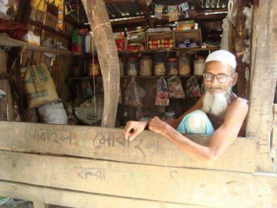 Poor shopkeeper