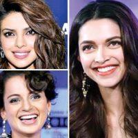 Priyanka, Deepika, Kangna