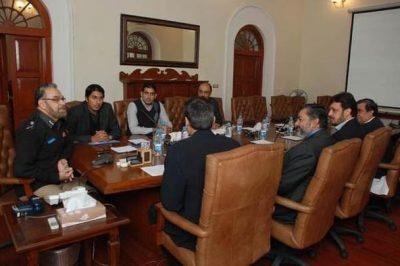 Punjab Police Meeting