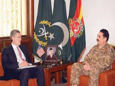 Raheel Sharif US Special Representative Meeting