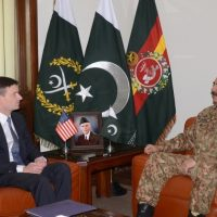 Raheel Sharif and David Hale