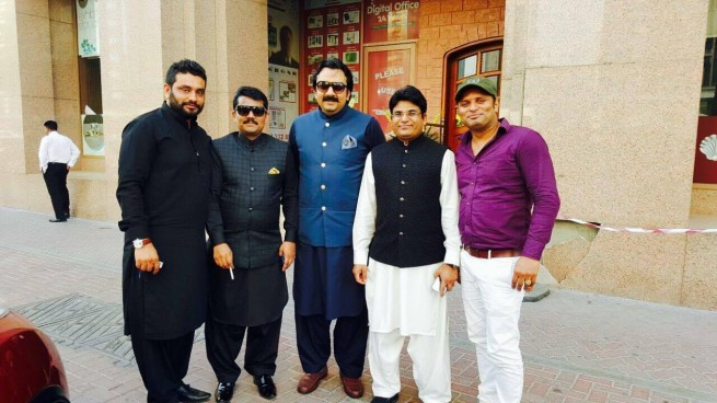 Rana Faisal with Friends