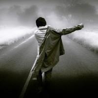 Sad Man Walk