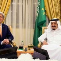 Shah Salman and John Kerry